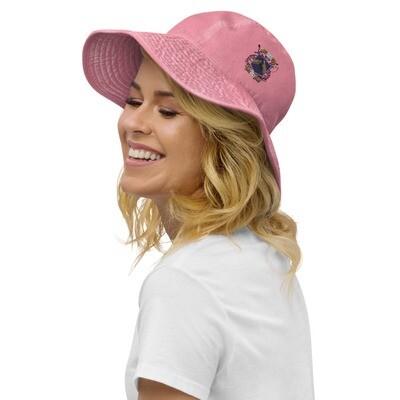 Wide brim bucket hat - Donnie D's Spices Logo