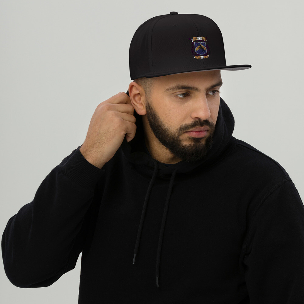 Snapback Otto Hat - Donnie D's Spices Logo