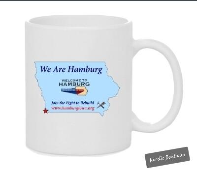 Coffee Mug ~ 11 oz. 'We Are Hamburg' White