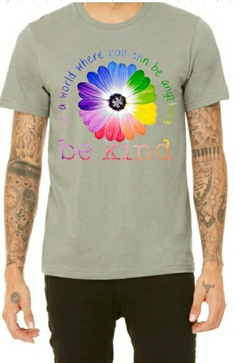 Be Kind Light Colored -Shirt