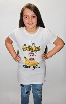 I'm Bananas Over You-ALM Magazine Kids Fitted T-shirt