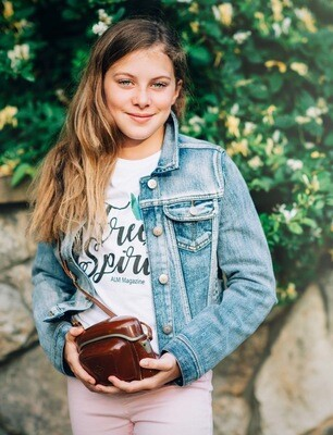 Free Spirit -ALM Magazine Kids Fitted T-shirt