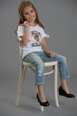 Taco Tuesday-ALM Magazine Kids Fitted T-shirt