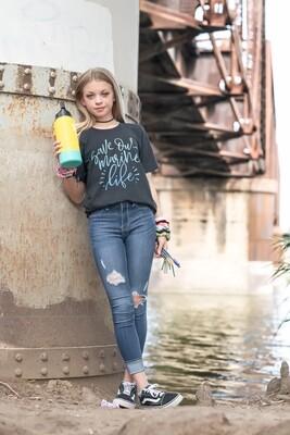 Save Our Marine Life- Heather Black Unisex T-shirt
