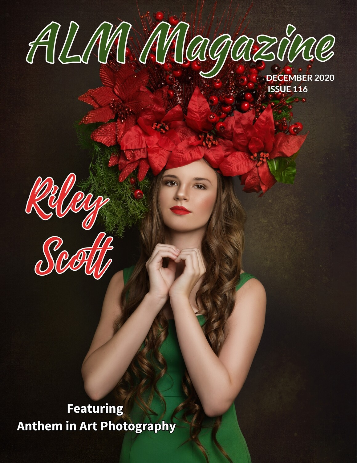 "PRINT W/ DIGITAL ISSUE- ALM Magazine, ""Christmas Beauties and Most Beautiful"" December 2020, Issue #116"