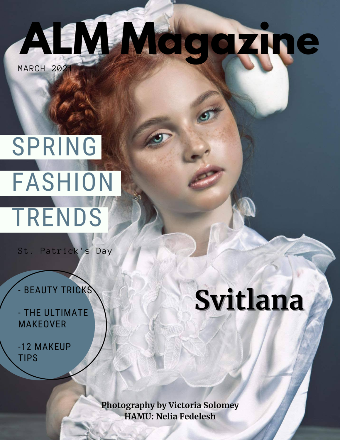 """DIGITAL ISSUE- ALM Magazine, """"Cover Models"""" March 2021, Issue #118"""