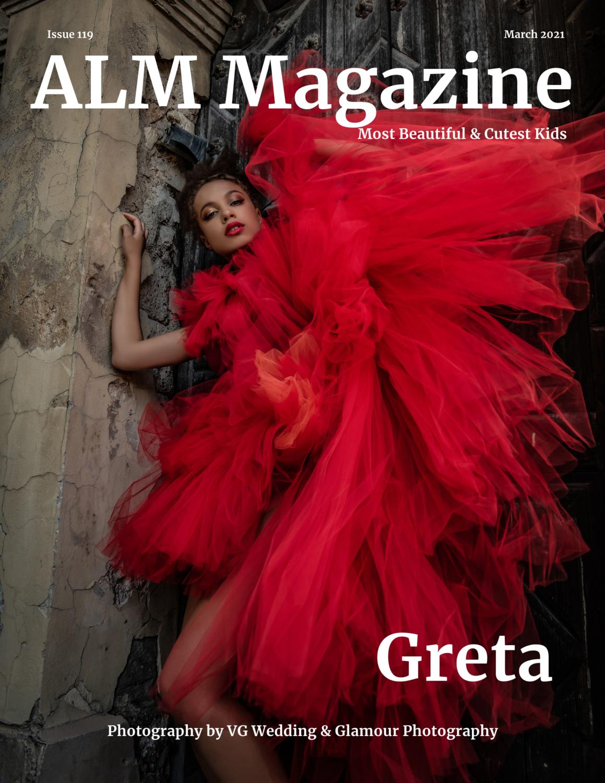 "PRINT W/ DIGITAL ISSUE- ALM Magazine, ""Most Beautiful & Cutest Kid"" March 2021, Issue #119"