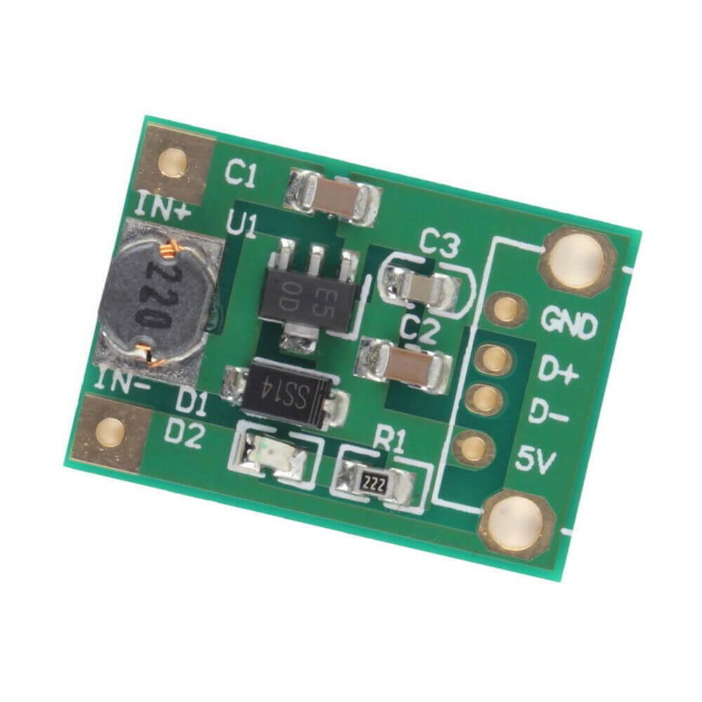 Modul ridicator tensiune 1-5V la 5VDC