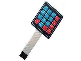 Tastatura membrana Keypad 4x4