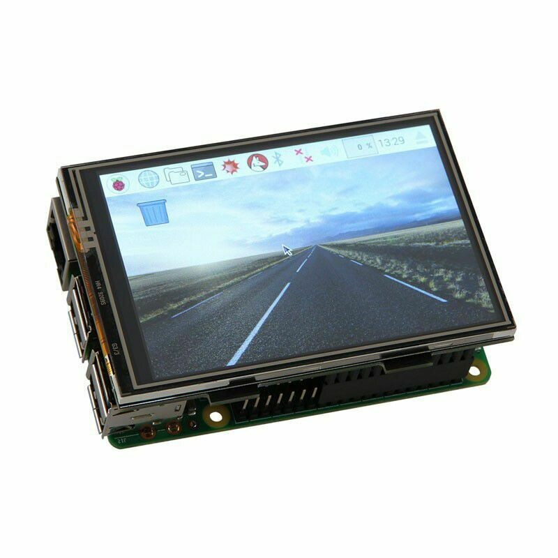 "Display 3.5"" Raspberry cu Touchscreen 480x320"