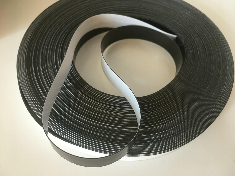 Banda magnetica autoadeziva, 0.3x15mm, 10cm