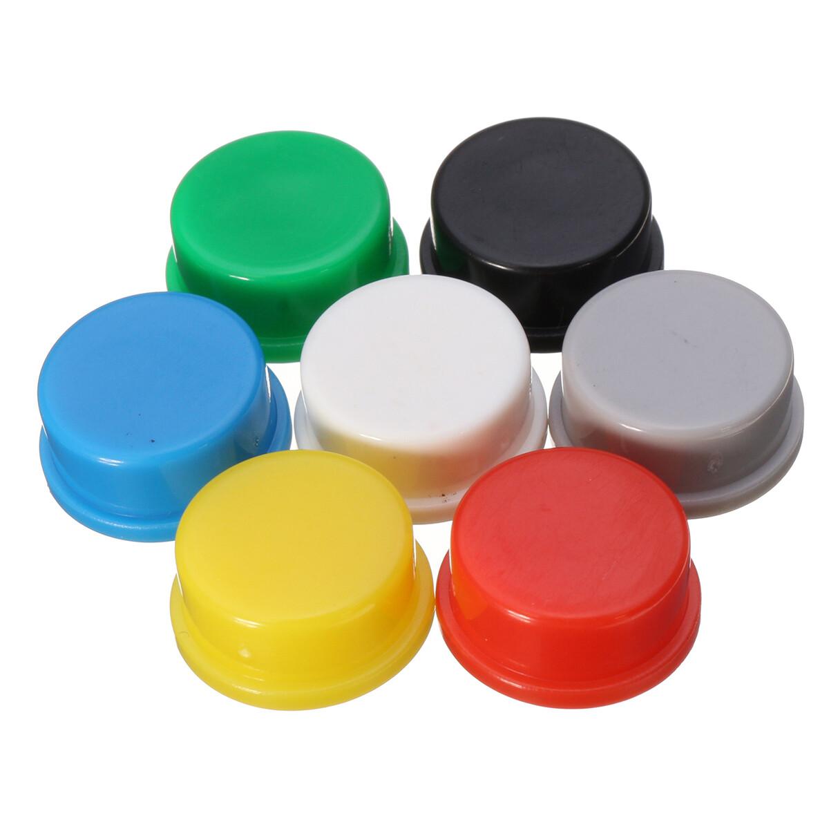 Capac buton 12x12x7.3, diferite culori