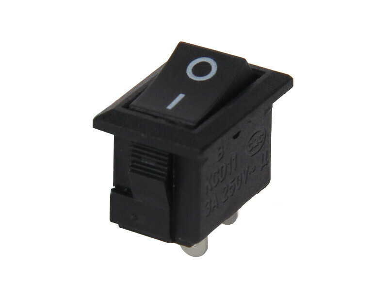 Intrerupator KCD11, 250V 3A, 2 pini