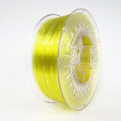 Filament Devil Design PET-G, 1Kg, Galben Transparent