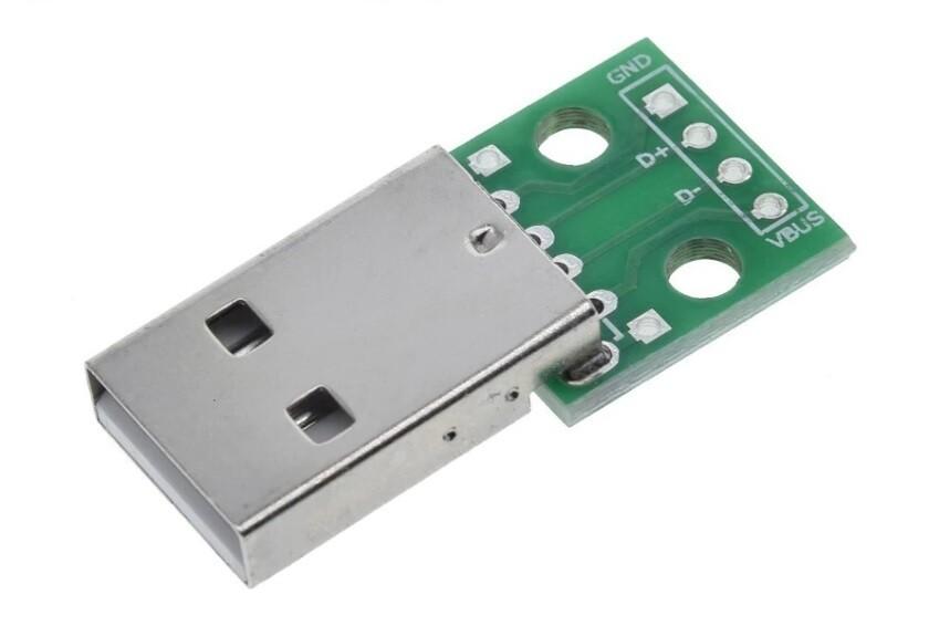 Modul adaptor USB 2.0, Tata