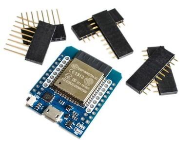 Placa dezvoltare D1 Mini, ESP32, WiFi + Bluetooth 4.2, ESP8266