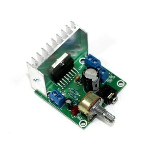 Amplificator audio TDA7297, 2x15W, 12V
