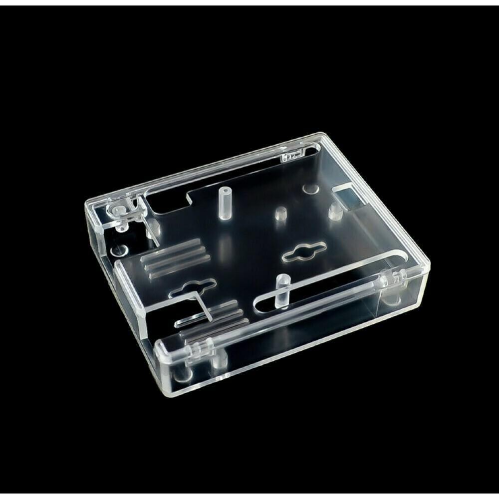 Carcasa plastic transparent Arduino UNO