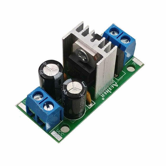 Modul cu stabilizator tensiune LM7805, 5V, 1.5A