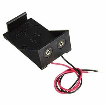 Suport baterie 9V cu mufa 5.5x2.1