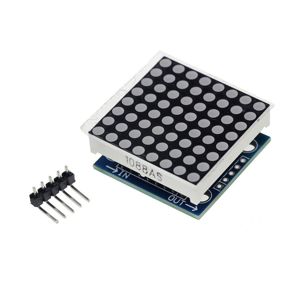 Matrice LED 8x8, MAX7219, Rosu, SMD