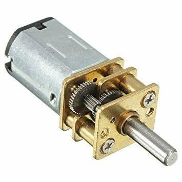 Motor DC Micro Metal, 6V, HPCB, Perii Carbon, 30:1