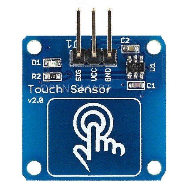 Senzor capacitiv TTP223B