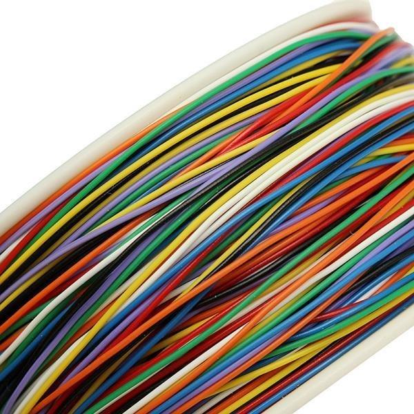 Cablu 30AWG 0.55 mm izolat, diferite culori 1m