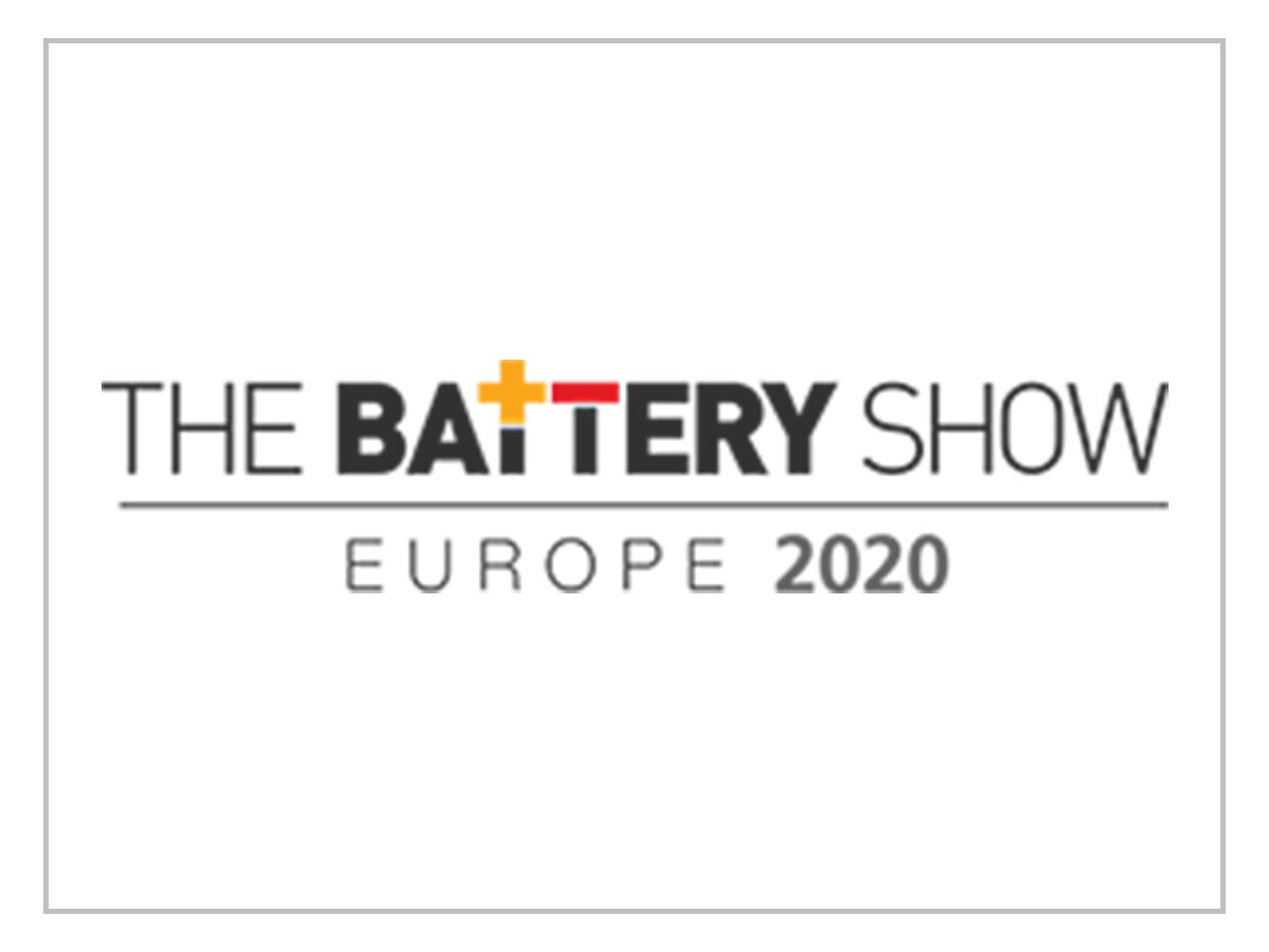 Battery Show 2020 - Complex Structure Fee