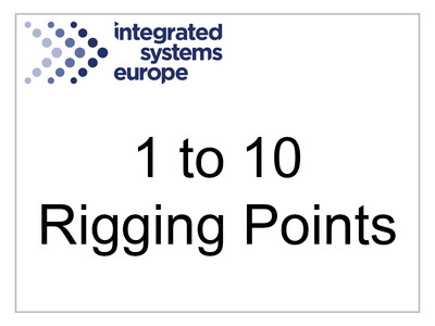 1 to 10 Rigging Points Certificate Fee