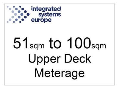 51sqm - 100sqm Upper Deck Meterage