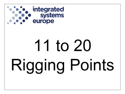 11 to 20 Rigging Points Certificate Fee