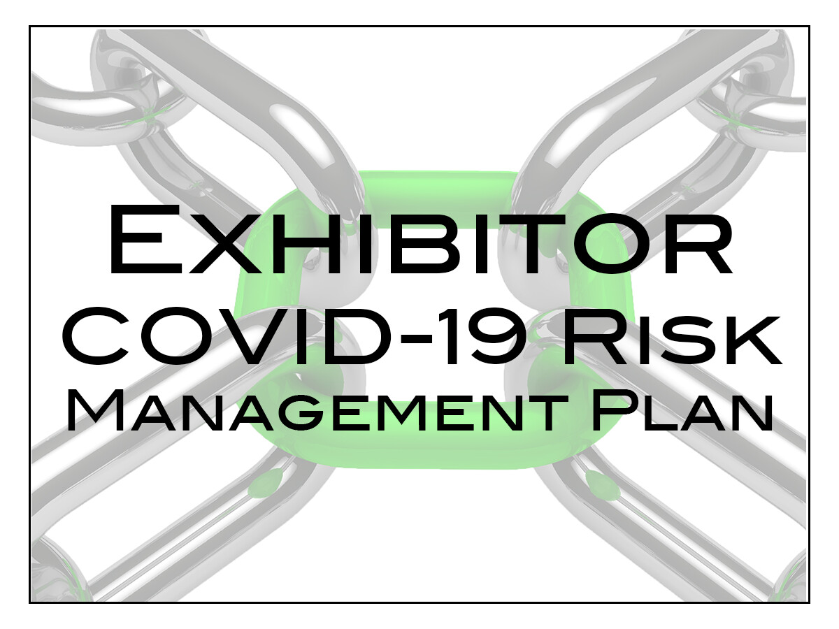 Exhibitor COVID-19 Risk Management Plan - rate per sqm