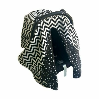 Standard car seat cover - Monochrome