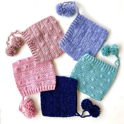 Vintage Crochet Bonnet