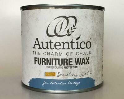 Autentico Sparkling Gold Furniture Wax - 250ml