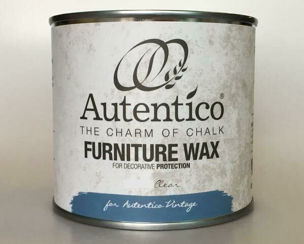 Autentico Clear Furniture Wax - 250ml