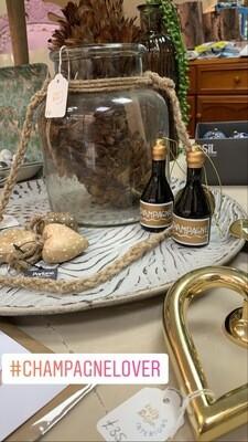 Champagne Bauble/keepsake
