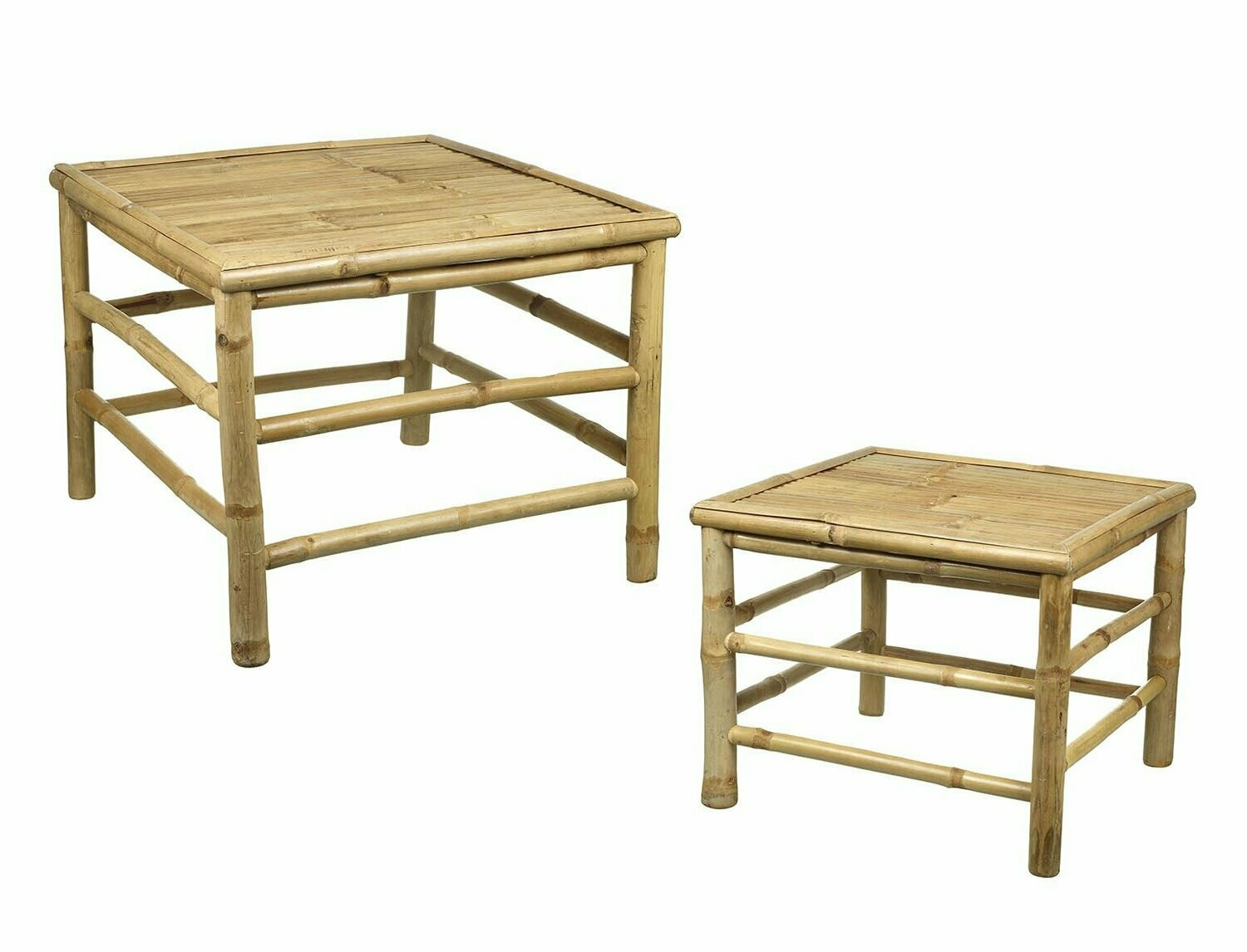 Bamboo side table - Large