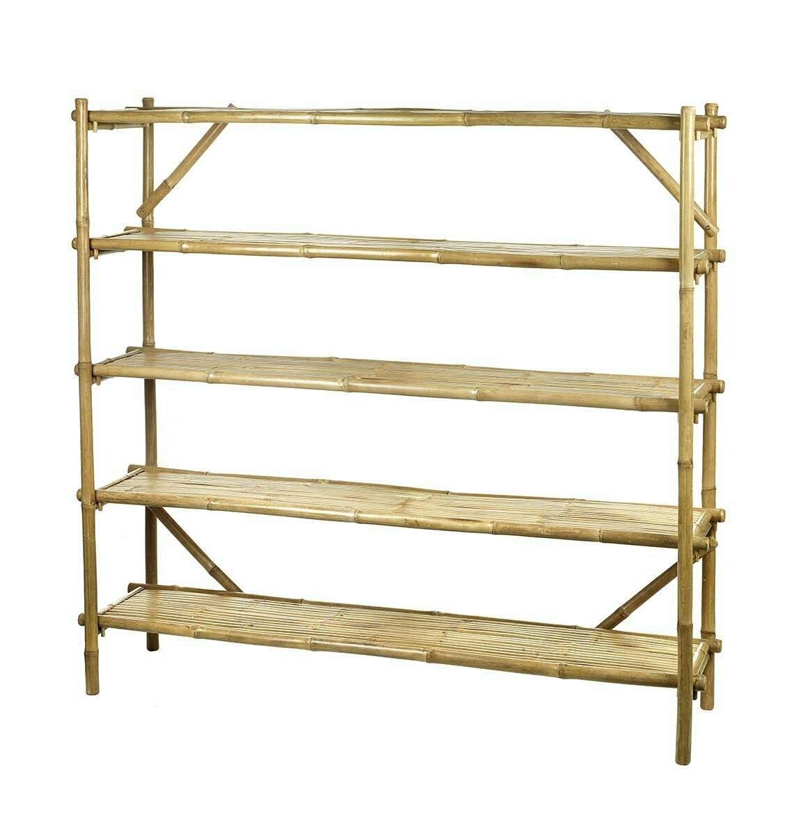 Bamboo Shelving unit