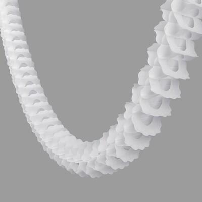 Classic White Paper Garland - 360cm