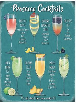 Prosecco Cocktail Menu