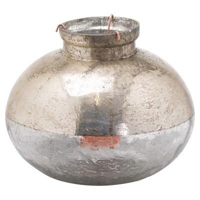 Medium Silverlust Bulbus Candle Holder