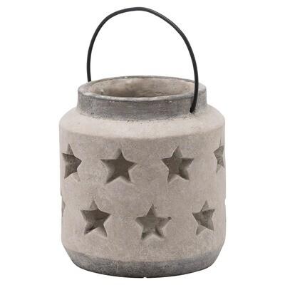 Bloomville Stone Star Lantern