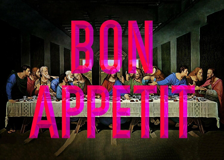 Bon Appetit - Wall Art Print