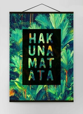 Hakuna Matata Canvas Sign