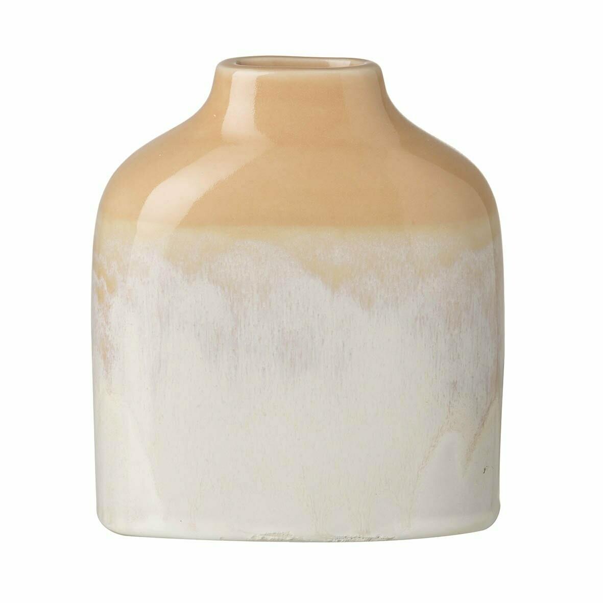 Peaches & Cream Wide Vase