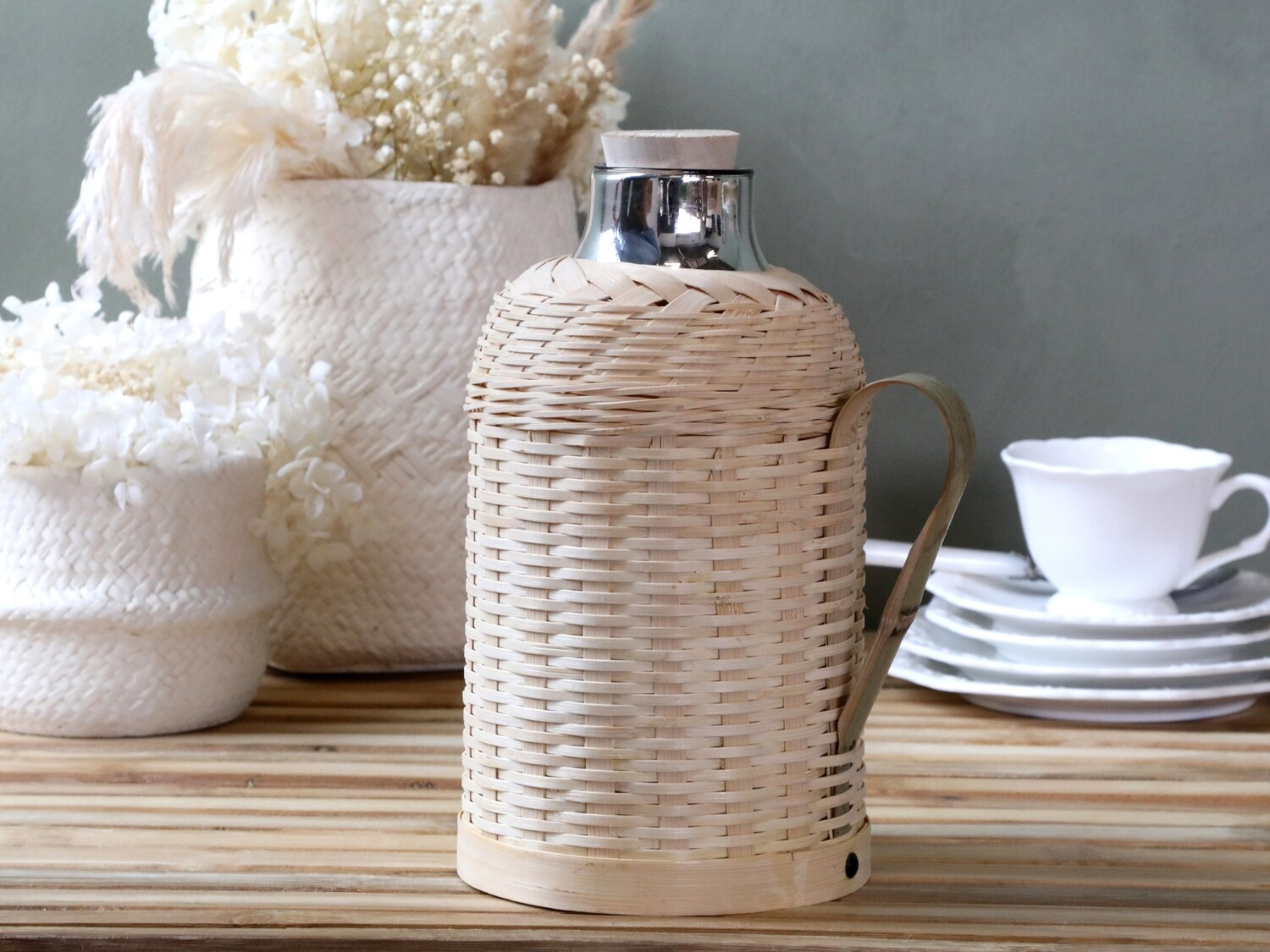 Thermos Bamboo Braided 1.3L