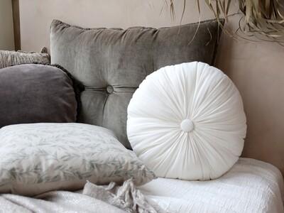 Luxurious Circular Cushion