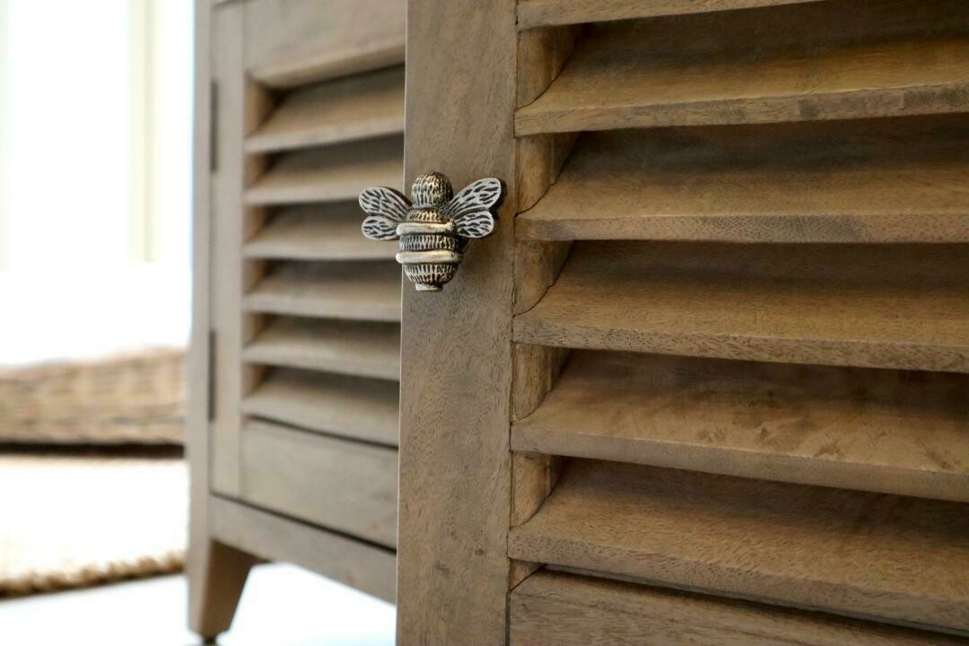 Bee Drawer Handle Pewter Finish